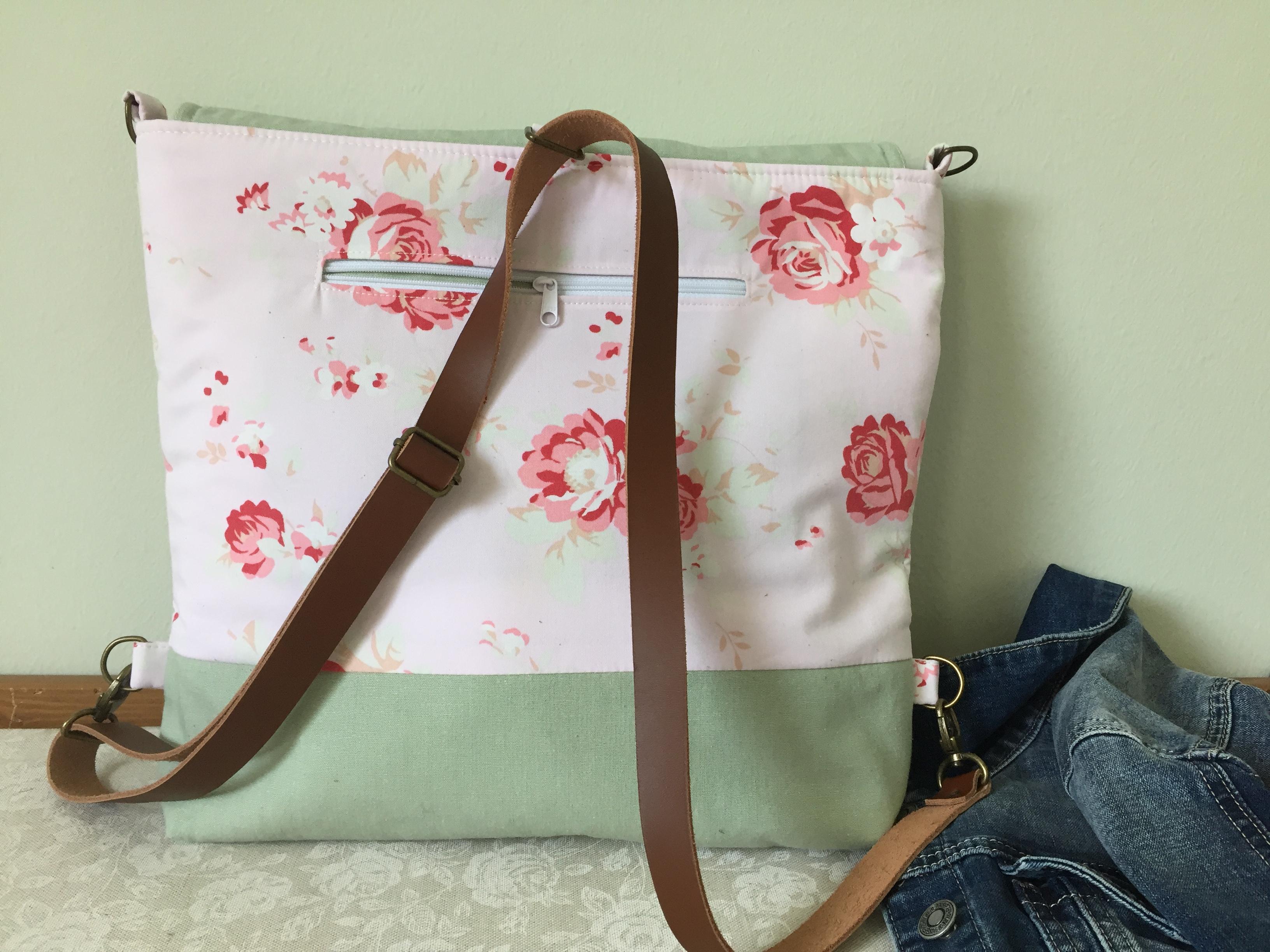 cd492064acee Rózsás – 2in 1 táska – Papheni – Designer kézzel készített táskák